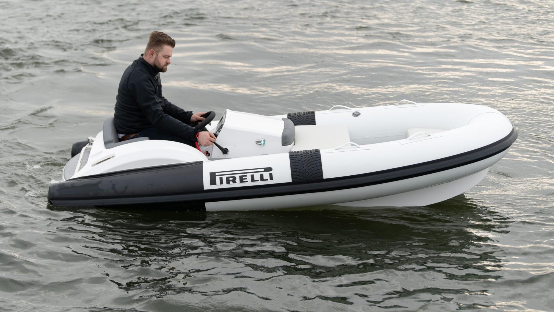 Beleef snelheid en avontuur met een speedboot van PIRELLI | TecnoRib
